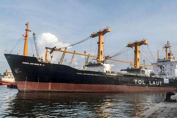 Ilustrasi kapal tol laut logistik Natuna berangkat dari Pelabuhan Tanjung Priok, Jakarta. - Antara